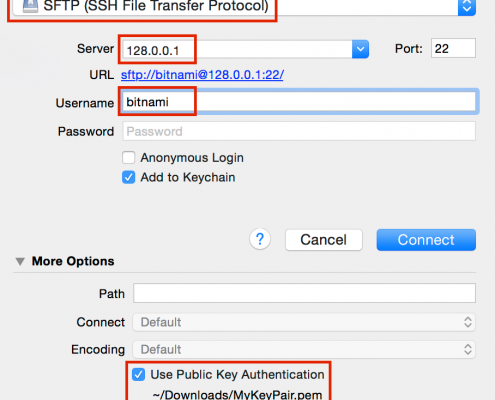Brian Hoshi | How to FTP into your EC2 Instance with Cyberduck